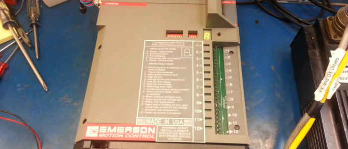 Emerson FX 455 Drive Troubleshooting