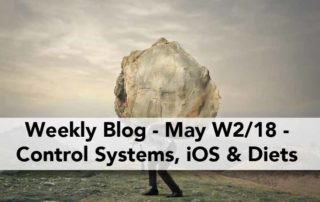 Control System Programming, Extreme Diet & iOS Development